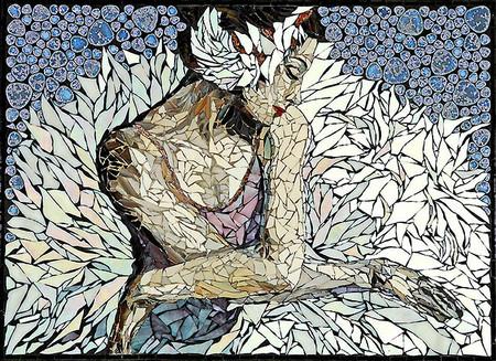 Механизмы и другие штуки в мозаиках Лоры Харрис — фото 12