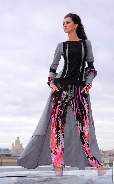 «Две сорванные башни» - модный творческий дуэт и его коллекция — фото 12