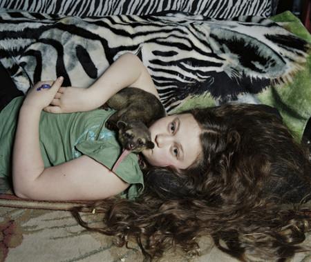 Фотопроект Amelia's world – животные в мире одной девочки — фото 26