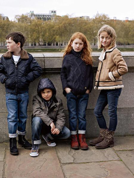 В меру взрослая детская коллекция Pepe Jeans 2013 — фото 9