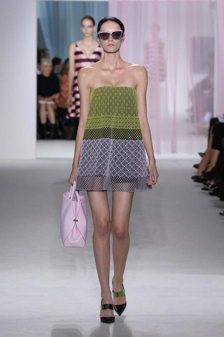 Женская коллекция Dior весна-лето 2013 — фото 22