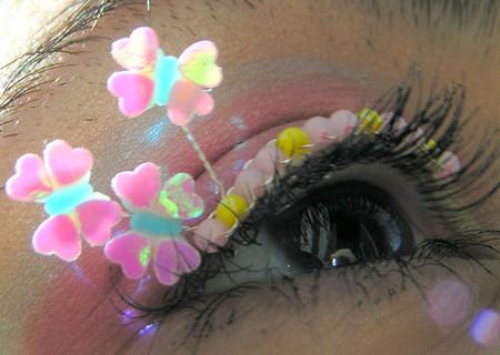 Почему бы не украсить ресницы?)) Идеи Natalie Russo — фото 14