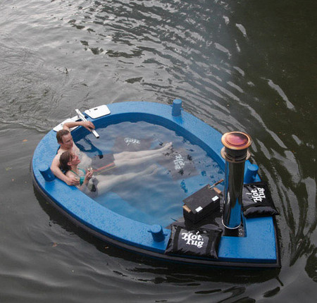 Лодки Hot Tub Boat – с теплым бассейном-джакузи и музыкой — фото 2
