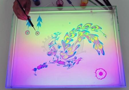 Эбру – нарисованные на воде фантазии — фото 16