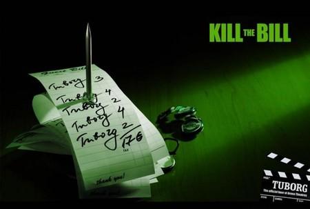 «Убить счет» (тоже игра слов – «bill» по-английски и «счет», и Билл)