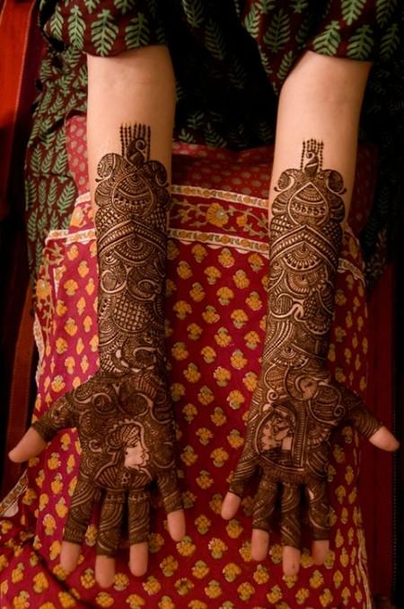 Менди – украшение не только для индийских принцесс — фото 14
