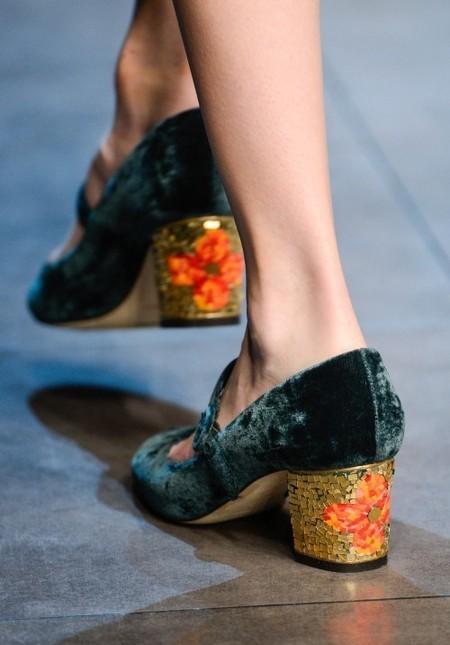Dolce & Gabbana осень-зима 2013-2014 – когда всего слишком много — фото 101