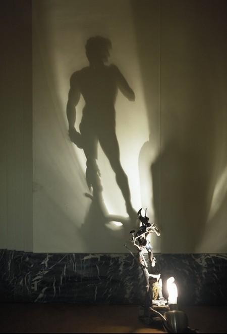 Танцы с тенью – скульптуры Diet Wiegman — фото 6