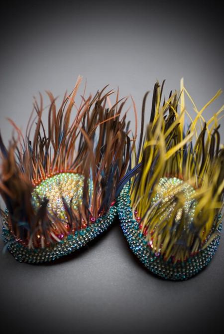 Туфли, похожие на скульптуры (или наоборот) от Марины Демпстер — фото 6