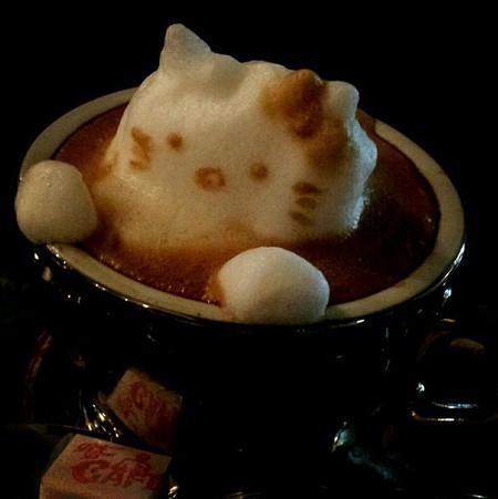 3D везде, даже в кофейной пенке! Продвинутый латте-арт от Kazuki Yamamoto — фото 5