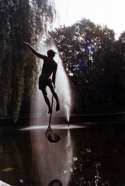Скульптуры в воздухе от Jerzy Kedziora — фото 11