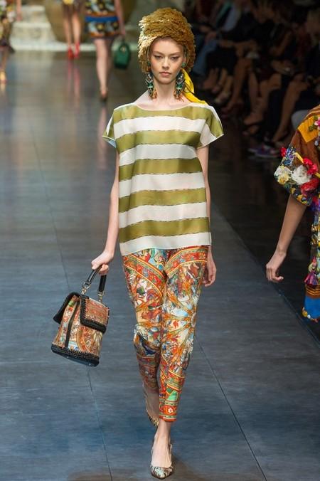 Сицилия от Dolce & Gabbana - женская коллекция весна-лето 2013 — фото 38