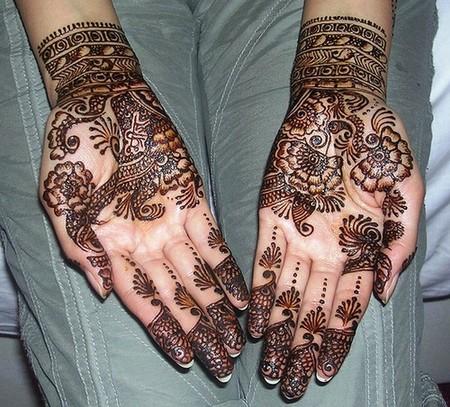 Менди – украшение не только для индийских принцесс — фото 31