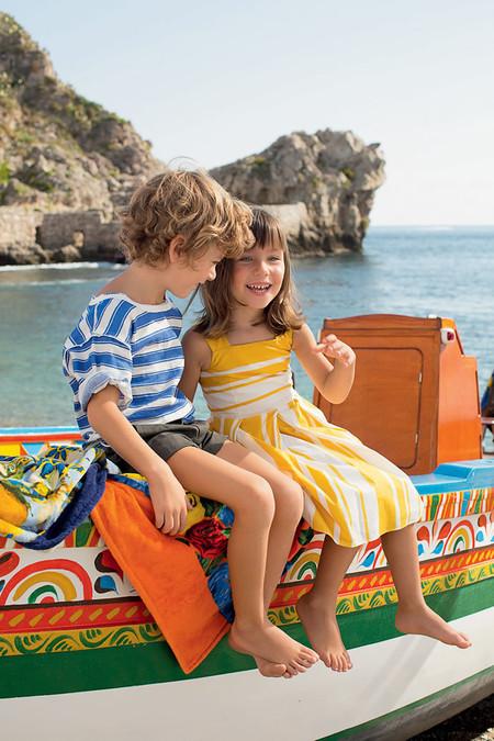 Самым любимым – детская коллекция Dolce&Gabbana весна-лето 2013 — фото 2