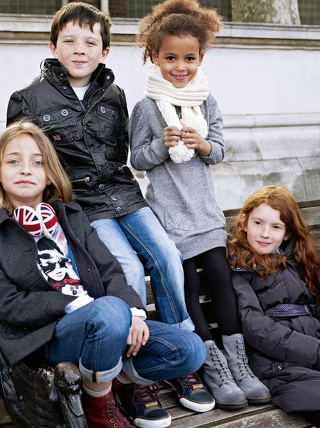 Хотите, чтобы ваши детки были похожи на лондонских мальчишек и девчонок?))