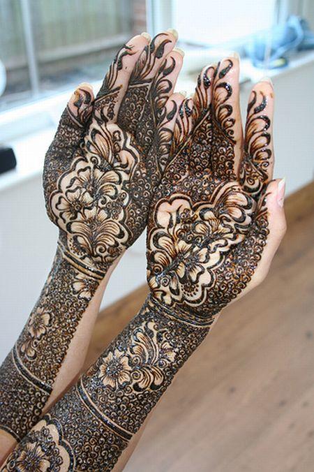 Менди – украшение не только для индийских принцесс — фото 33