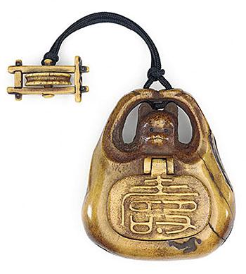 Сагемоно-инро – японский карман. Почему в настоящем нэцкэ должно быть две дырочки? — фото 20