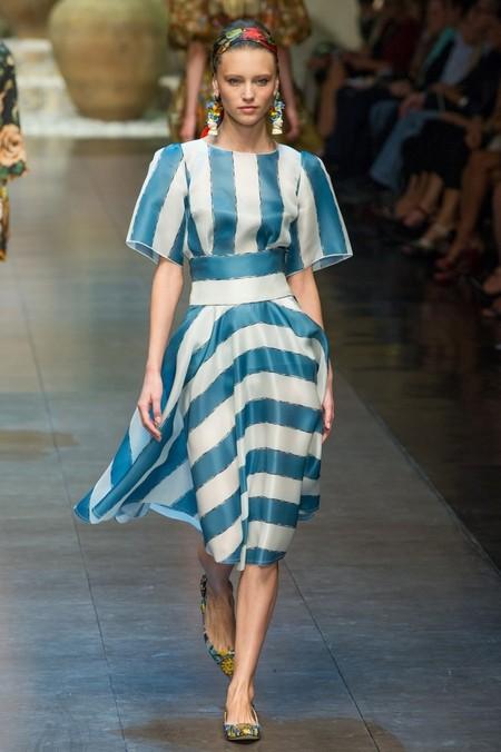 Сицилия от Dolce & Gabbana - женская коллекция весна-лето 2013 — фото 36
