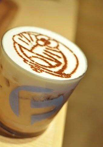 Герои аниме на кофейкой пенке – еще немного о латте-арт — фото 16