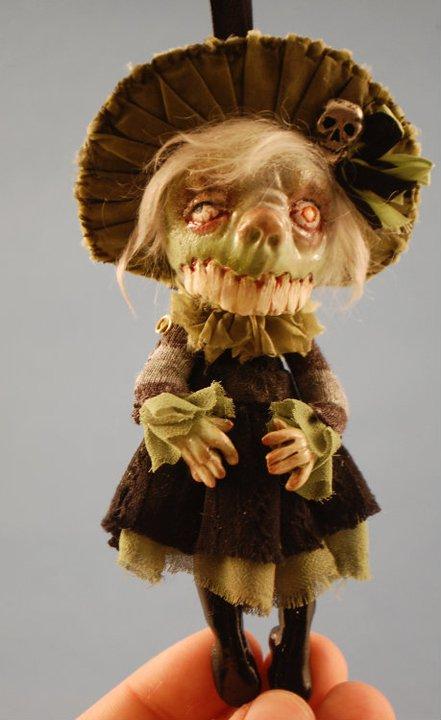 Зомби, монстры, вампиры и прочие куклы Камиллы Млынарчик — фото 19