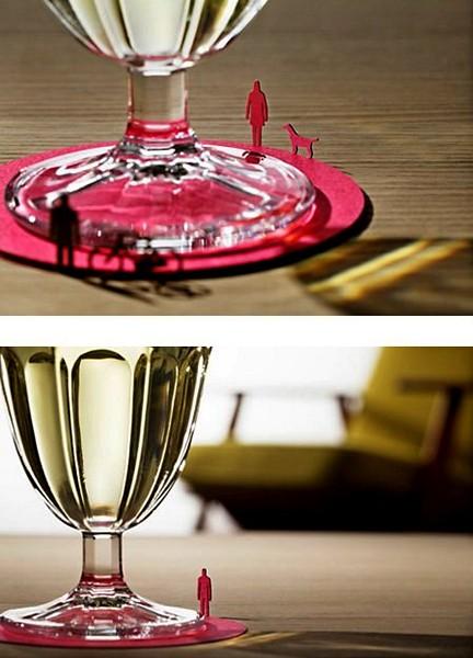 Фантазии на тему подставок под чашки и бокалы — фото 37