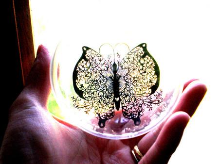 Кружева из бумаги – ювелирные работы Хины Аоямы — фото 16