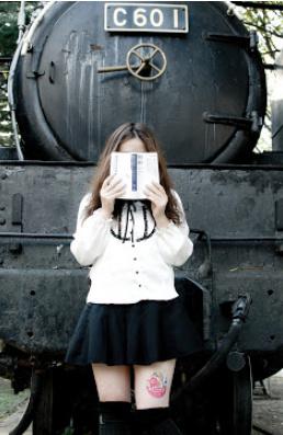 Как юных японок ноги кормят )) Новая идея рекламщиков — фото 6