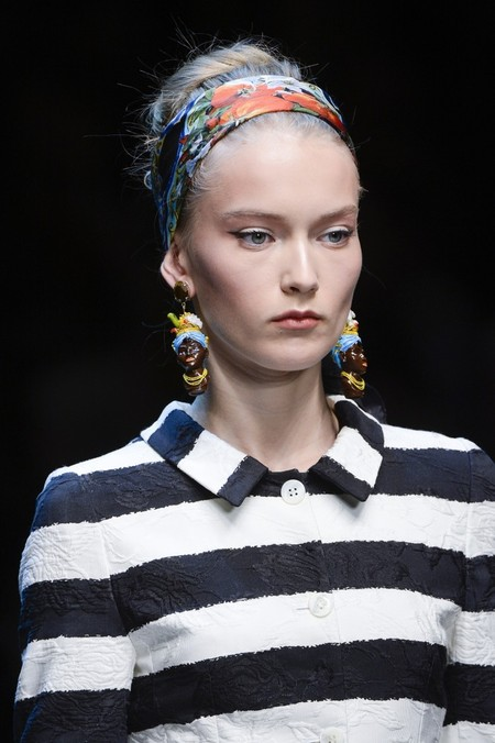 Сицилия от Dolce & Gabbana - женская коллекция весна-лето 2013 — фото 6