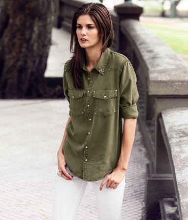 Свежий стайлбук от H&M – милая весенняя коллекция 2013 — фото 30