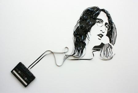 «Призрак в машине» - портреты из магнитофонной ленты — фото 4
