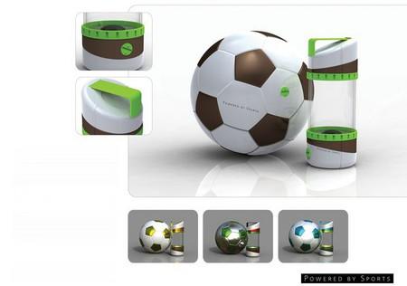 Днем – футбол, вечером – свет! Светильник Powered By Sports от Джесси Ли (Jesse Lee) — фото 2