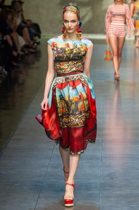Сицилия от Dolce & Gabbana - женская коллекция весна-лето 2013 — фото 16