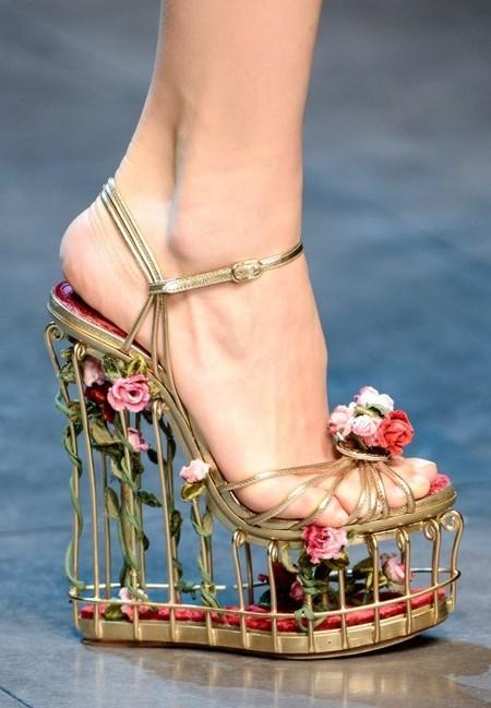 Dolce & Gabbana осень-зима 2013-2014 – когда всего слишком много — фото 106