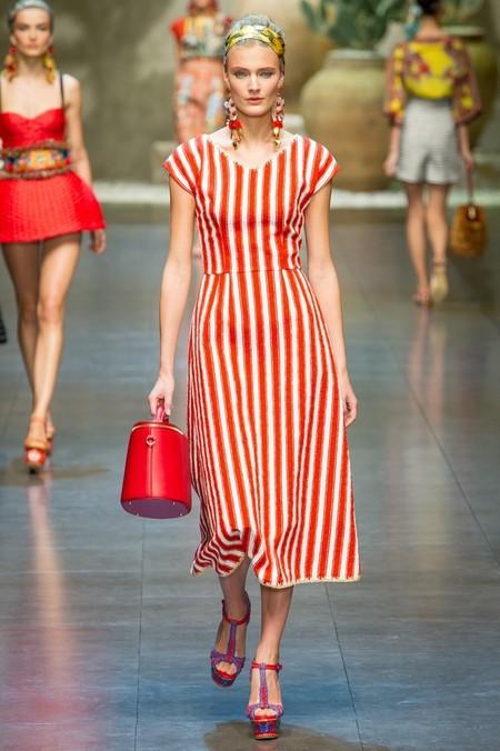 Сицилия от Dolce & Gabbana - женская коллекция весна-лето 2013 — фото 28