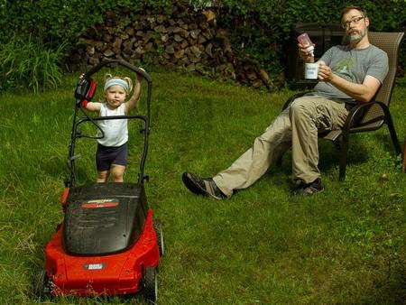 Папа и дочь – истории в картинках. Фото Дэйва Энглдау — фото 43