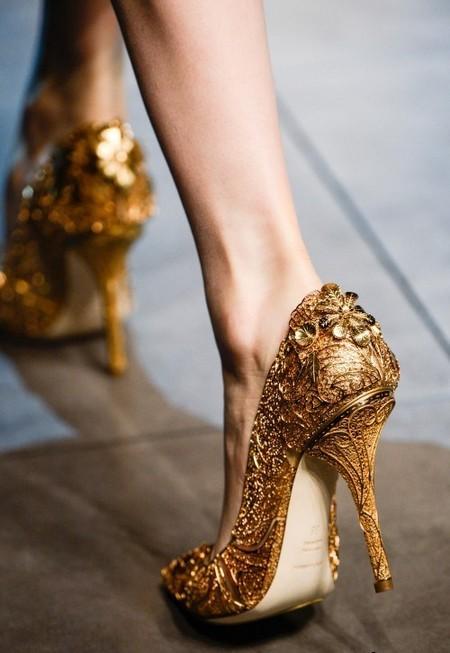 Dolce & Gabbana осень-зима 2013-2014 – когда всего слишком много — фото 118