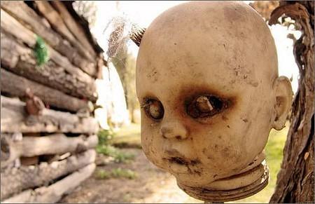 Остров кукол в Мексике – место не для детей — фото 11