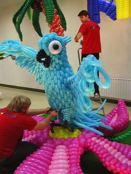 Твистинг – скульптуры из воздуха, или надувательство ))) Фигуры из воздушных шариков — фото 50