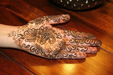 Менди – украшение не только для индийских принцесс — фото 41