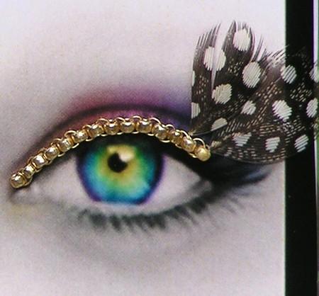 Почему бы не украсить ресницы?)) Идеи Natalie Russo — фото 6