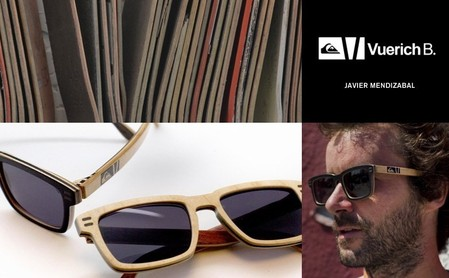Скейтборды превращаются в очки – совместный проект Quiksilver и Vuerich B — фото 3