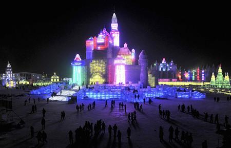 Фестиваль Ледяных дворцов в китайском Харбине – зимняя сказка — фото 17