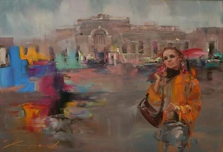 Светлые картины Елены Капустиной — фото 18