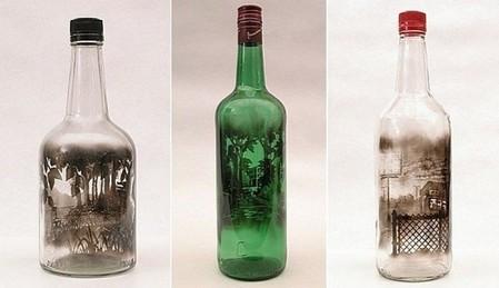 Дымный мир внутри бутылки – работы Джима Динджилиана — фото 13