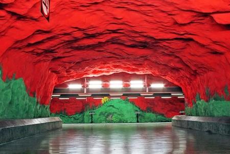 Метро, ради которого стоит приехать в Стокгольм! — фото 17