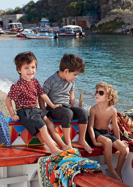 Самым любимым – детская коллекция Dolce&Gabbana весна-лето 2013 — фото 11
