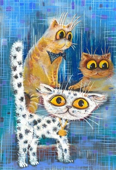 Коты и кошки Бориса Касьянова — фото 46