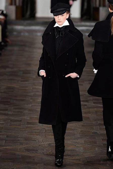 Коллекция Ralph Lauren осень-зима 2013-2014 – эпохе Анны Карениной посвящается — фото 10