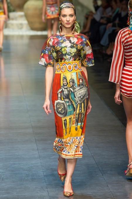 Сицилия от Dolce & Gabbana - женская коллекция весна-лето 2013 — фото 52
