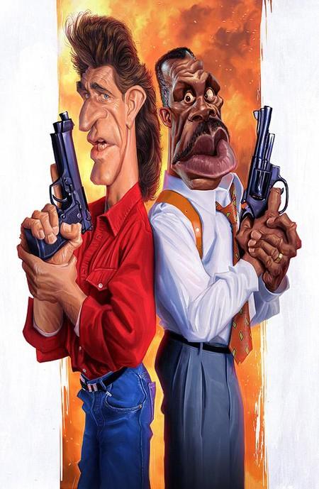 Современные карикатуры на голливудских звезд — фото 14